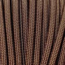 Cordame Paracord 550 Lb com 7 filamentos 10 metros - Marrom