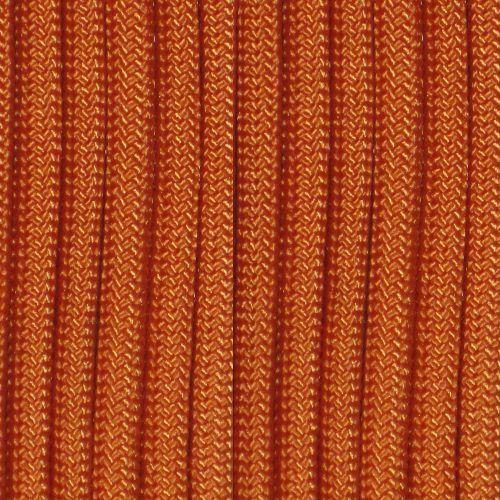 Cordame Paracord 550 Lb com 7 filamentos 10 metros - Laranja Queimado