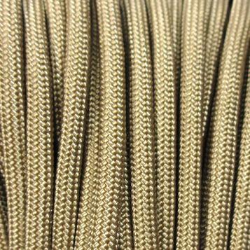 Cordame Paracord 550 Lb com 7 filamentos 10 metros - Coyote Tan
