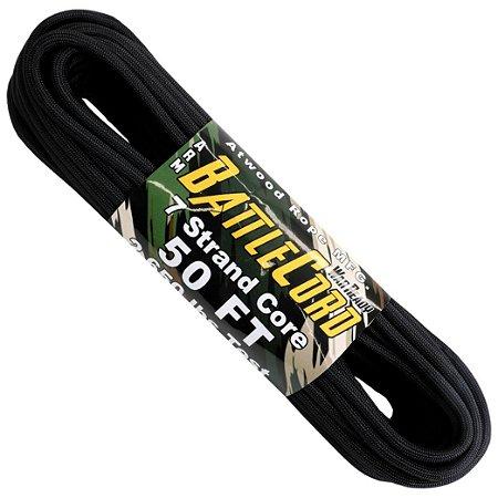 Corda Militar Battlecord 2650 Lbs 7 Filamentos 15 metros - Preto
