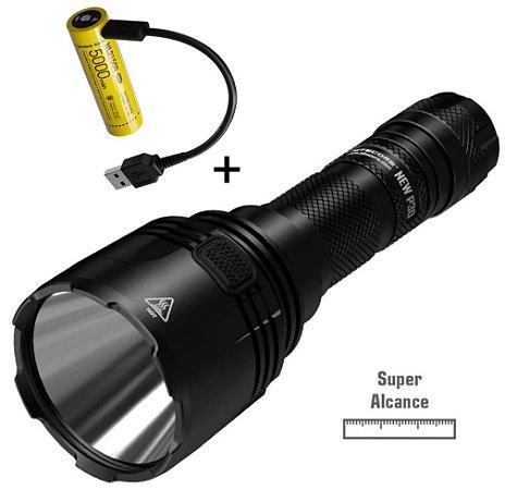 Lanterna Nitecore New P30 de Longo Alcance 618 Metros