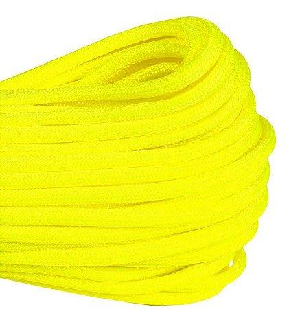 Paracord 550 Lb 7 Fios 10 metros Amarelo Neon