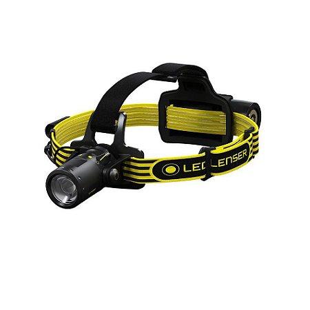 Lanterna de cabeça anti explosão Ledlenser iLH8R ATEX