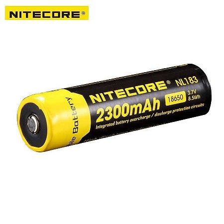 Bateria De Alta Capacidade 18650 Nitecore Nl1823 2300 Mah