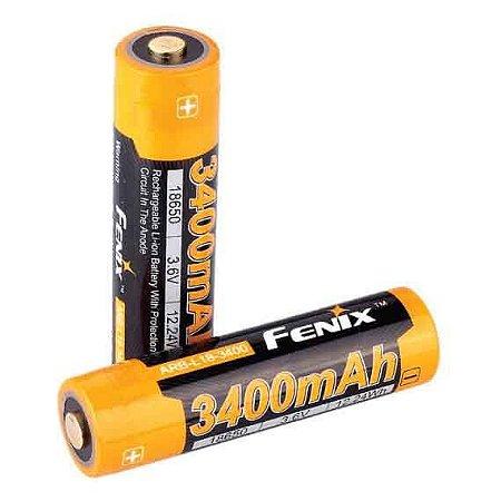 Bateria 18650 Fenix ARB L18 Alta Capacidade 3400 mAh