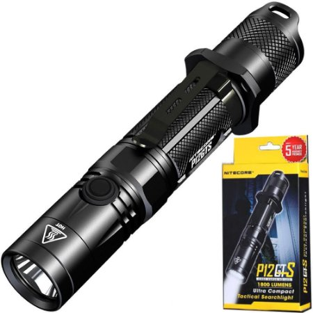 Lanterna Tática NiteCore P12GTS Super Potente 1800 lumens