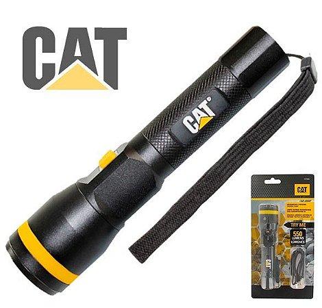 Lanterna Led Caterpillar CAT CT2505 USB 550Lm Ajuste Zoom