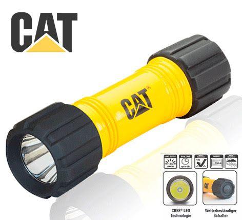 Lanterna Forte Robusta Simples Caterpillar Cat Ctrack 200 Lm