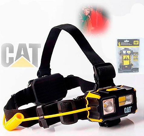 Lanterna Cabeça Capacete Caterpillar CT4120 Industrial 250Lm