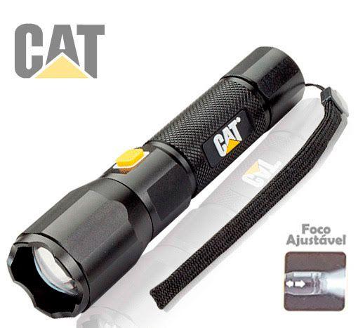 Lanterna USB Caterpillar CAT CT2405 Led 420Lm Foco Ajustável