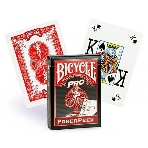 Baralho Premium Bicycle Pro Power Peek Vermelho Coleção