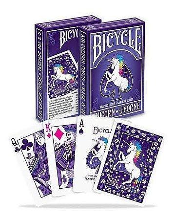 Baralho Premium Bicycle Unicorn Coleção