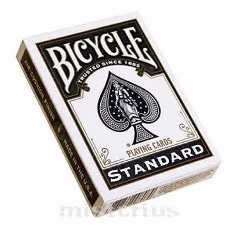 Baralho Premium Bicycle Standard Preto Coleção