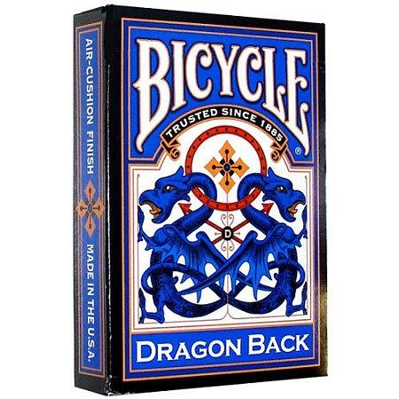 Baralho Premium Bicycle Dragon Back Blue / Azul Coleção