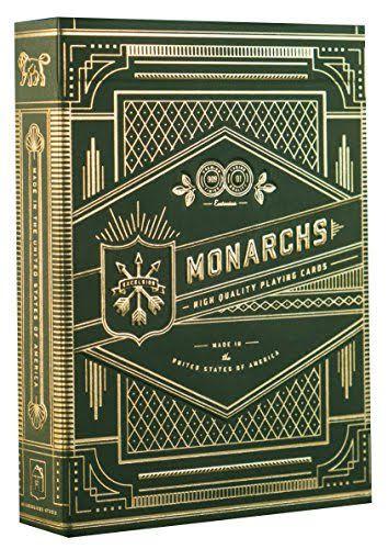 Baralho Premium Theory11 Monarch verde Coleção
