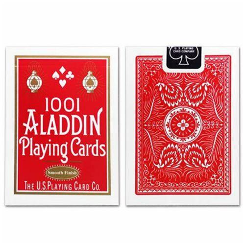 Baralho Premium Aladdin 1001 Standard Smooth Finish Vermelho
