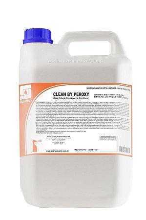 CLEAN BY PEROXY DESINFETANTE LIMPADOR DE USO GERAL - SPARTAN 5L