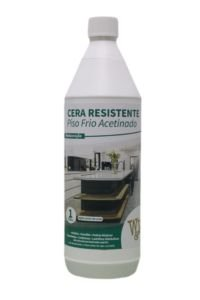 CERA RESISTENTE PISO FRIO ACETINADA 1L W&W