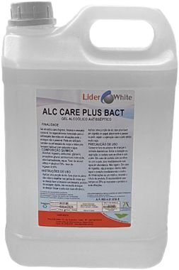 ÁLCOOL GEL 70° CARE PLUS BACT 5L