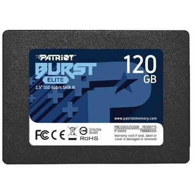 SSD 120GB SATAIII BURST PBE120GS25SSDR - PATRIOT
