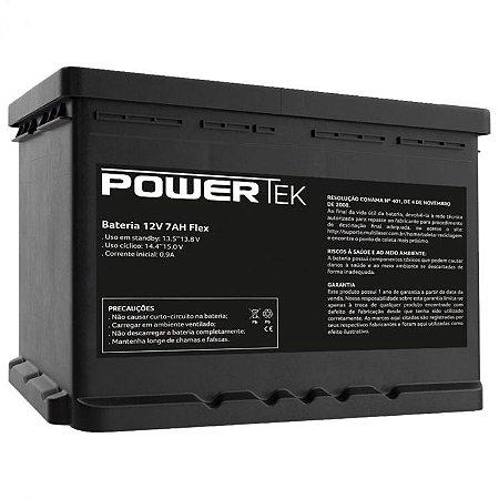 BATERIA 12V 7AH FLEX EN012 - POWERTEK
