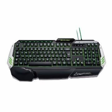 TECLADO USB GAMER METAL WAR C/ LED TC189 - MULTILASER