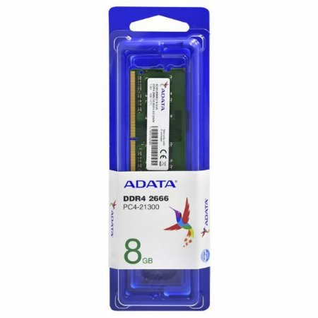 MEMORIA RAM NOTEBOOK DDR4 2666MHZ 8GB CL19 AD4S26668G19-SGN - ADATA