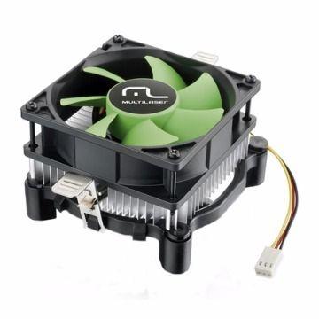 COOLER PARA CPU UNIVERSAL PARA INTEL E AMD - MULTILASER