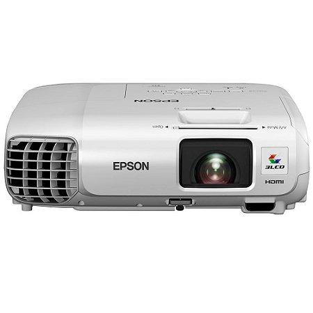 PROJETOR X29 POWERLITE 3000 LUMENS HDMI/RJ45 3LCD BRANCO - EPSON