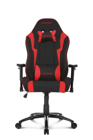 CADEIRA WOLF BLACK/RED GAMER - AKRACING