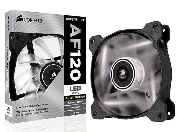 COOLER PARA GABINETE AF120 120MM LED BRANCO CO-9050015-WLED - CORSAIR
