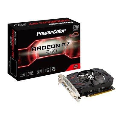 PLACA DE VIDEO RADEON R7 250 OC EDITION V2 1GB DDR3 128 BITS - 1GBD5-HV4E/OC - POWER COLOR