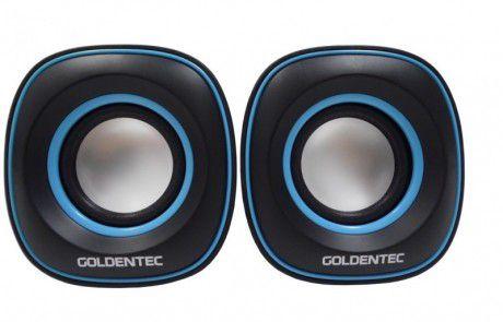 CAIXA DE SOM GT SOUND 2.0 - GOLDENTEC