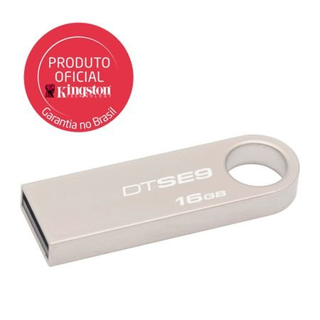 PEN DRIVE DATATRAVELER 16GB DTSE9H/16GB ALUMINIO - KINGSTON