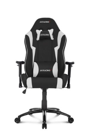 CADEIRA GAMER WOLF BLACK/WHITE - AKRACING