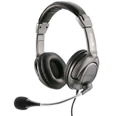 HEADSET GAMER CINZA USB PH043 - MULTILASER