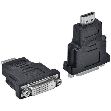 ADAPTADOR DVI 24+1 FEMEA PARA HDMI MACHO ADVIF-H - VINIK