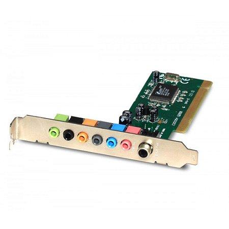 PLACA DE SOM ENCORE ENM232-8CMI PCI 8 CANAIS