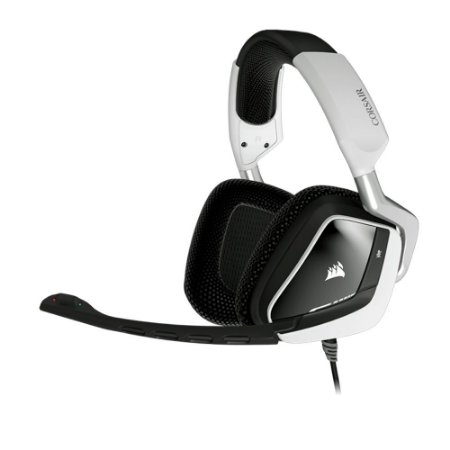 HEADSET GAMER VOID RGB DOLBY 7.1 BRANCO CA-9011139-NA - CORSAIR