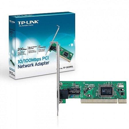 PLACA DE REDE PCI 10/100 TF-3239DL - TP-LINK