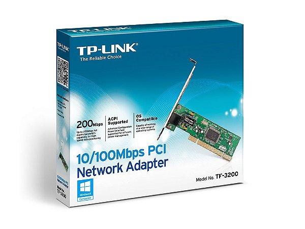 PLACA DE REDE PCI 10/100 TF-3200 - TP-LINK