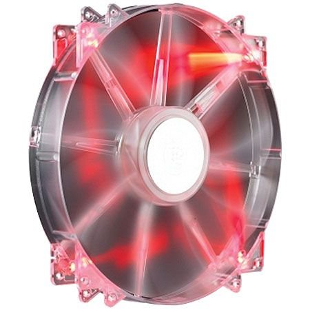 COOLER PARA GABINETE MEGAFLOW 200 RED LED R4-LUS-07AR-GP - COOLER MASTER