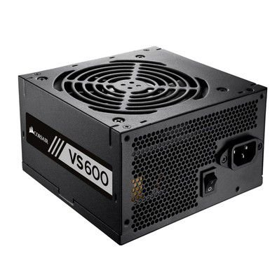 FONTE ATX 600W 80PLUS WHITE VS600 CP-9020119-LA PFC ATIVO - CORSAIR