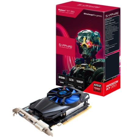 PLACA DE VIDEO R7 350 2GB DDR5 11251-10-20G- SAPPHIRE