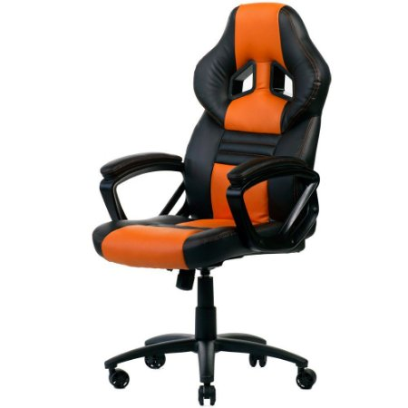 CADEIRA GAMER GTS BLACK/ORANGE 120KG - DT3 SPORTS