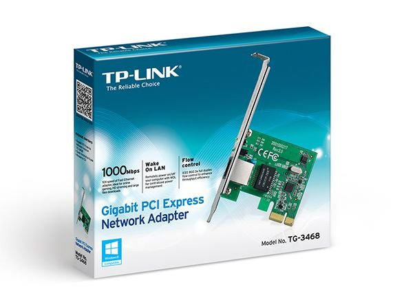 PLACA DE REDE PCI-E 10/100/1000 GIGABIT TG-3468 - TP-LINK