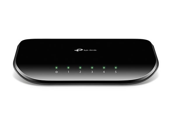 SWITCH 5 PORTAS 10/100/1000 GIGABIT TL-SG1005D - TP-LINK