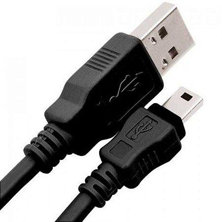 CABO USB PARA MINI USB 1 METRO (CAMERAS FOTOGRAFICAS,GPS, ETC)