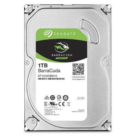 DISCO RIGIDO 1TB BARRACUDA SATA III 7200RPM 64MB CACHE ST1000DM010 - SEAGATE