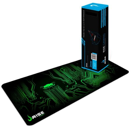 MOUSE PAD GAMER CIRCUIT EXTENDIDO COSTURADO RG-MP-06-CRT - RISE